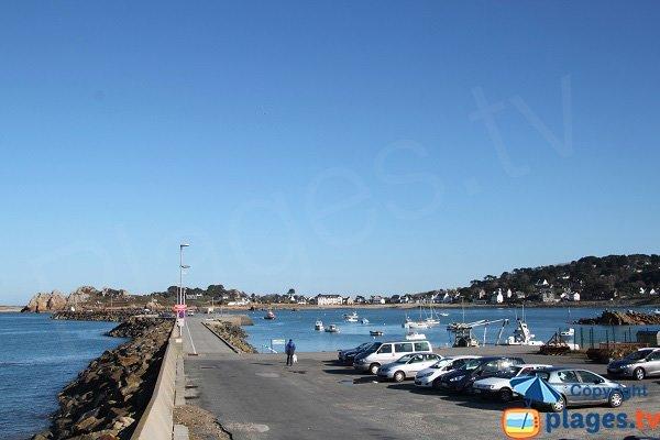 Port du Diben en Bretagne