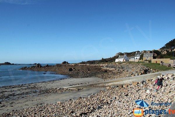 Photo de la plage de Primel à Plougasnou