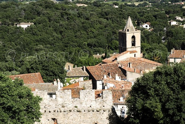 Grimaud in the area of Ramatuelle and Saint Tropez