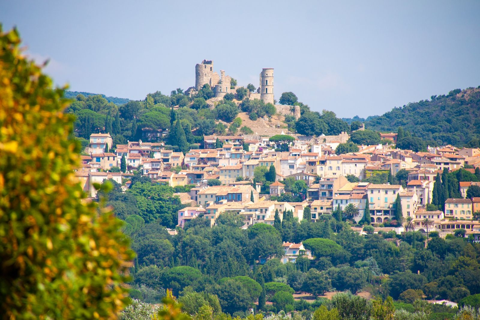 Le village de Grimaud