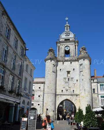 Big clock of La Rochelle