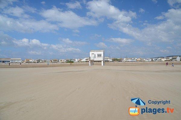 Lifeguard station of gruissan beach