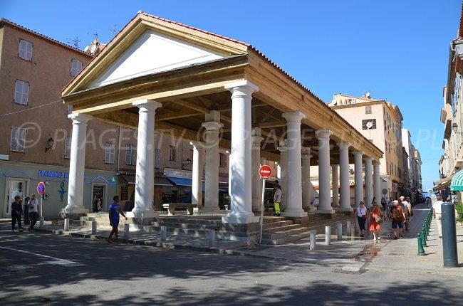 Halles in Ile Rousse in Corsica