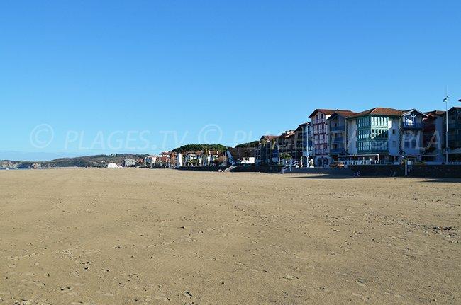 Front de mer d'Hendaye