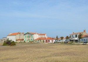 Le village de l'île d'Aix