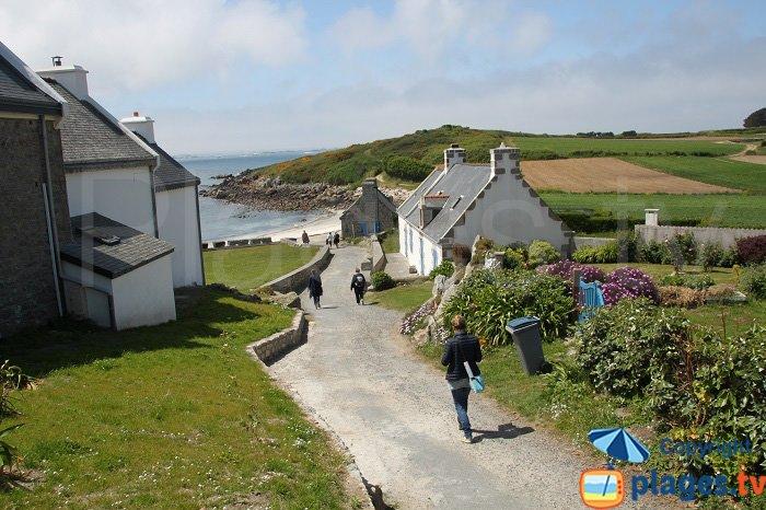 Ile de Batz en Bretagne