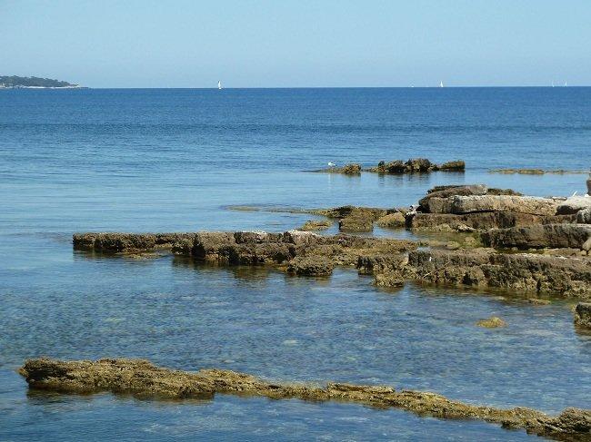 Ile de Sainte Marguerite au large de Cannes