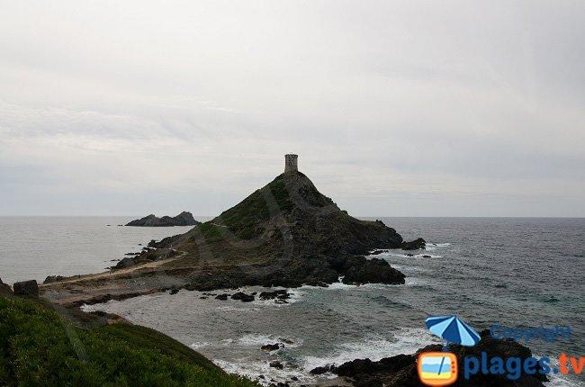 Sanguinaires island in Ajaccio