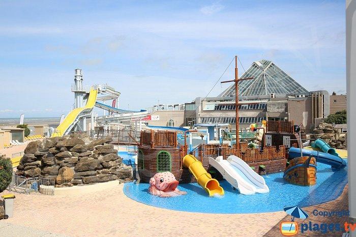 Jeux Aquatiques sur la plage Nord du Touquet