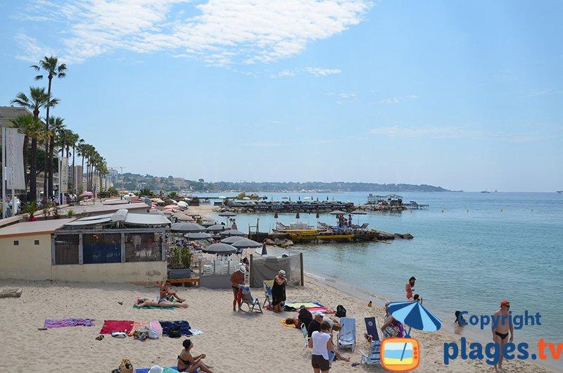 Juan les Pins et ses plages privées
