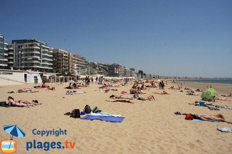 La Baule et sa grande plage de sable