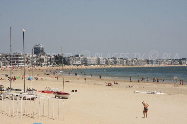 Great beach of La Baule: the largest in Europe
