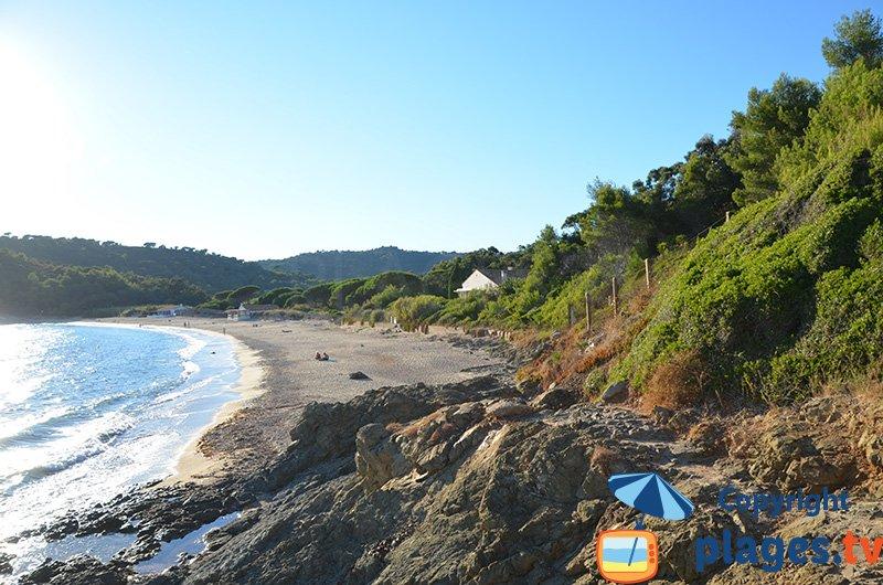 La Briande : la plage la plus sauvage entre Ramatuelle et La Croix Valmer