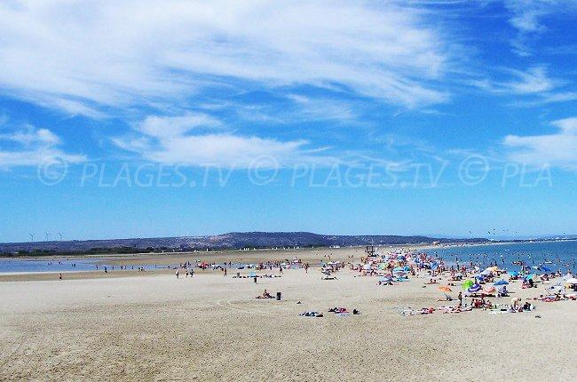 La Franqui e spiaggia Coussoules