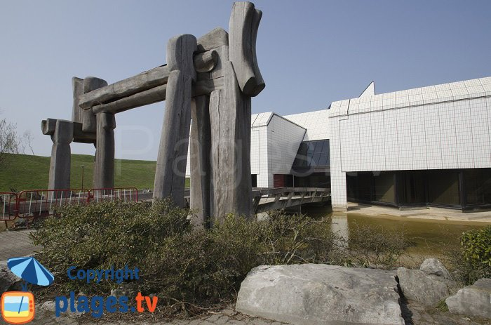 LLAC et ses sculptures - Dunkerque