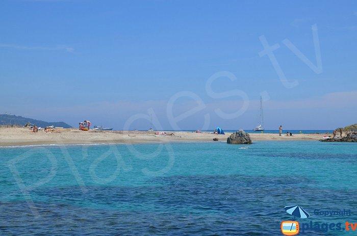 Cap Taillat: la mer des deux côtés