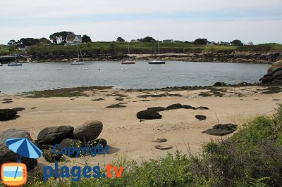Lanildut en Bretagne