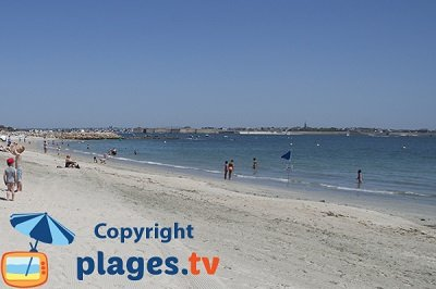 Larmor-Plage in Brittany in France