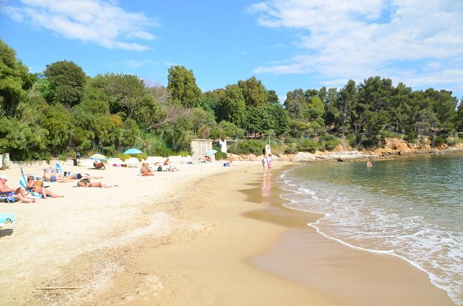 La Fossette - a beautiful beach in Le Lavandou