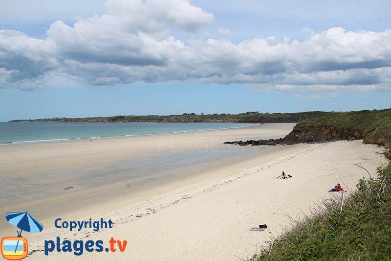 Le Conquet et sa grande plage de sable
