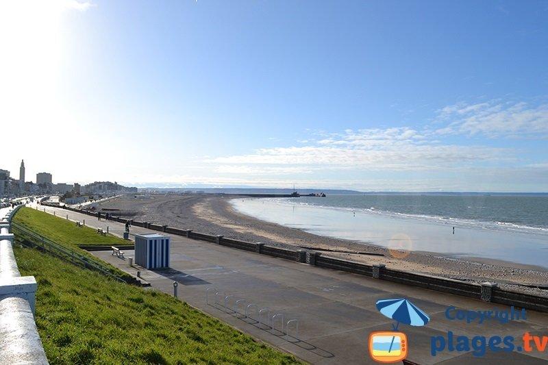 Le Havre et sa grande plage