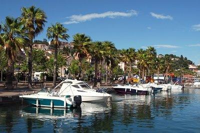 Lavandou harbor - France