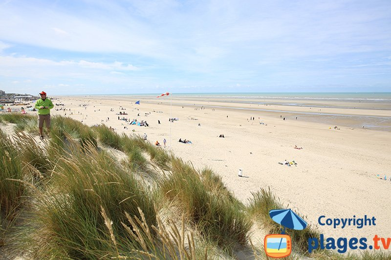 Le Touquet vue des dunes