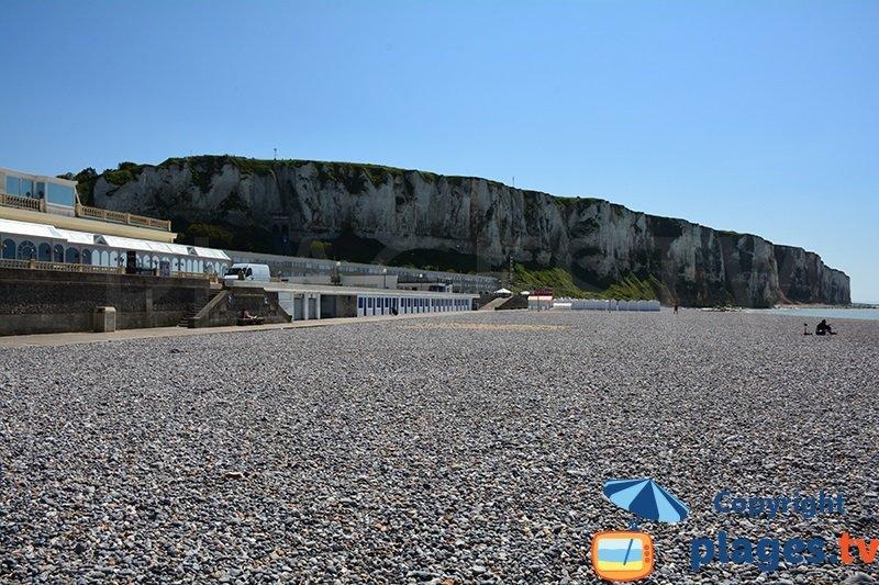 Le Treport en Normandie avec vue sur les falaises