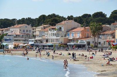 Plage de St Cyr les Mer aux Lecques