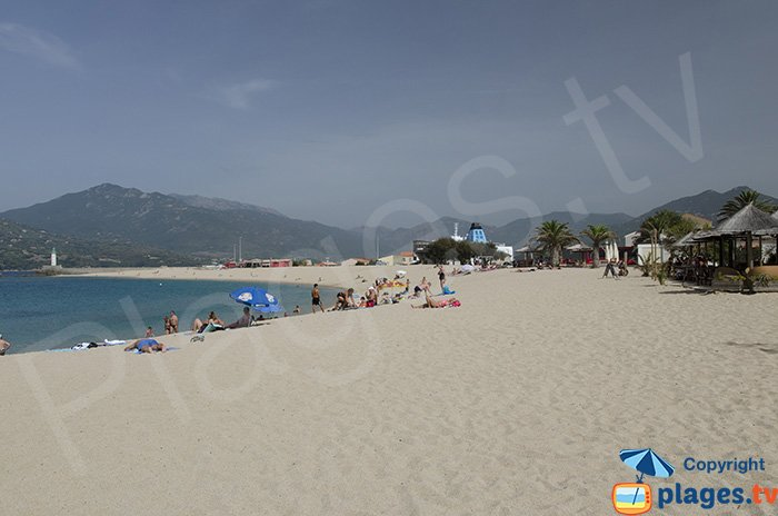 Le Lido de Propriano - La plage