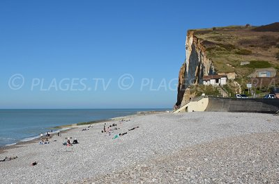 Petites Dalles Beach in France