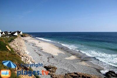 Littoral de Plozévet avec sa plage