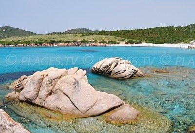 Spiaggia a Sartène - Corsica
