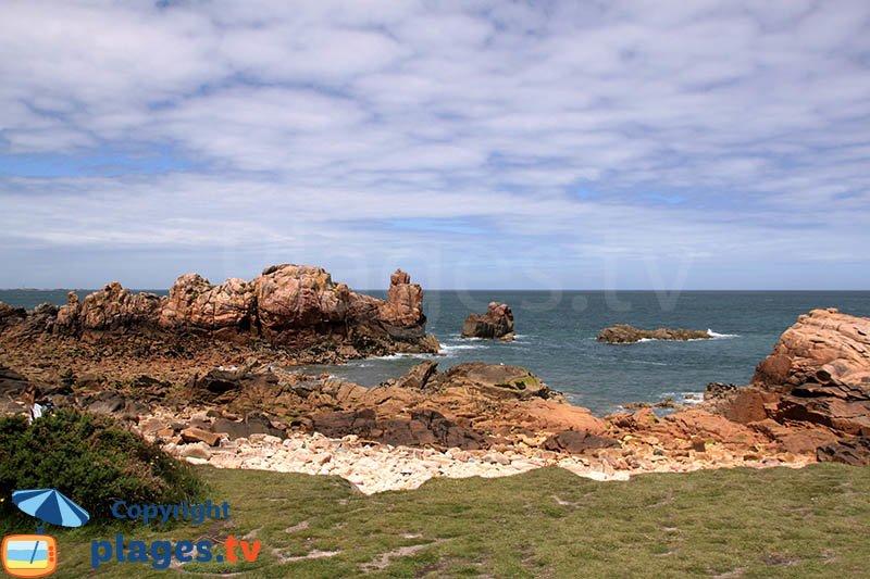 Côte sauvage de l'ile de Bréhat