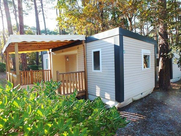 Mobil home avec deux chambres à Seignosse - camping les Oyats