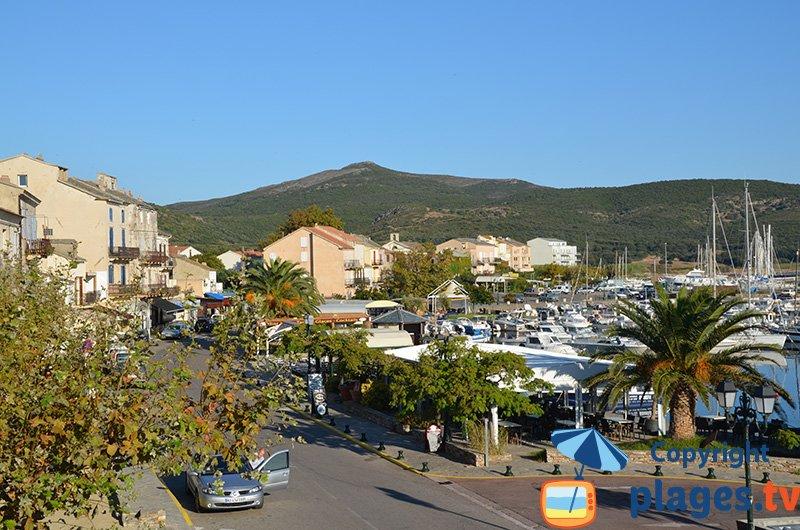 Port of Macinaggio in Cap Corse