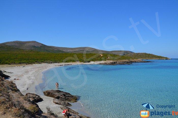 Une magnifique crique dans le Cap Corse