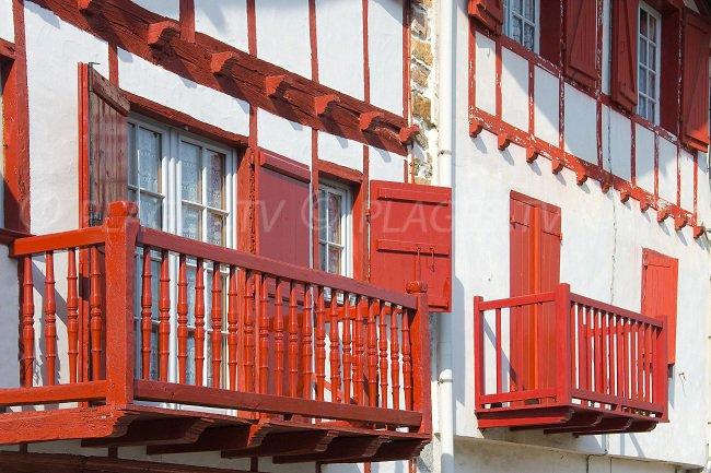 Basque house in Ainhoa - France