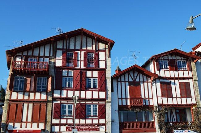 Maisons basques à Ciboure