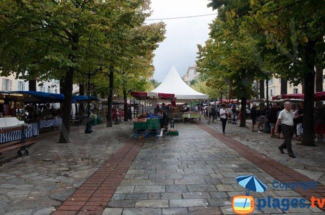 Market in Ajaccio