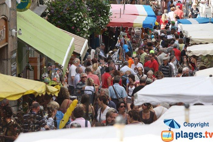 Market in Lannion