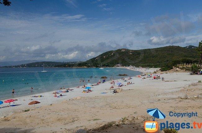 Mare e Sole: a beautiful beach south of Ajaccio