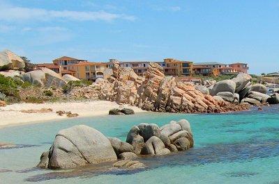 Marina of Cavallo island - Corsica