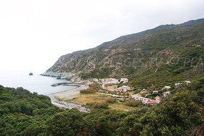 Marine de Giottani dans le Cap Corse