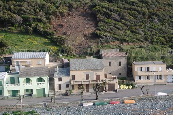 Houses of the Marine of Negru in Cap Corse