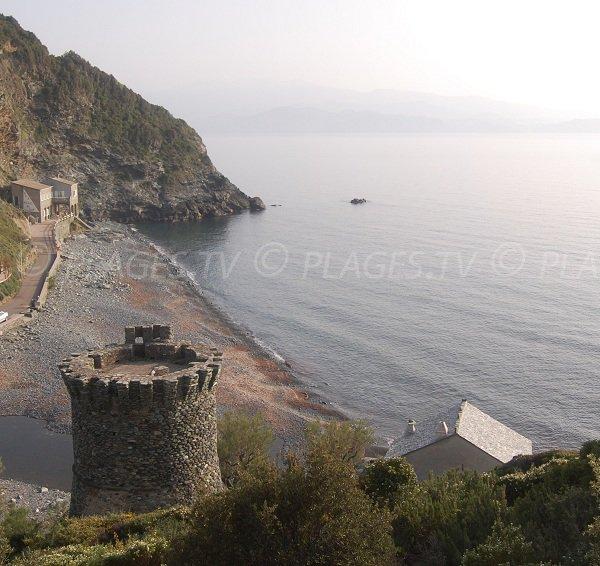 Spiaggia della Marina di Negru in Corsica