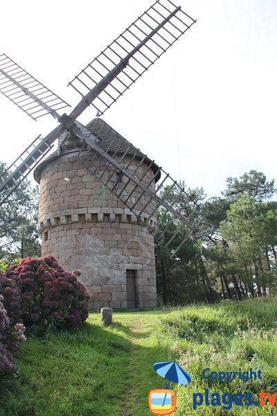 Mills of La Clarté in Brittany