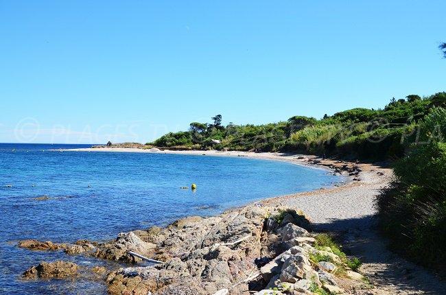 Spiaggia riservata a St Tropez