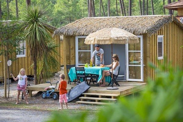 Natur'house au camping Oyats dans les Landes