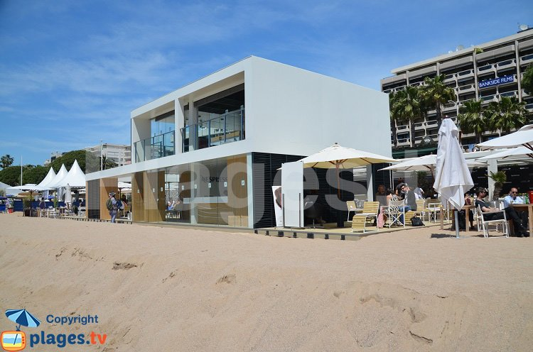 Stand Nespresso à Cannes
